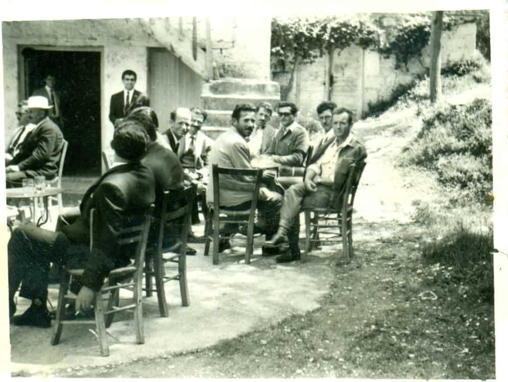 Καφενείο Γαλάνη 1964